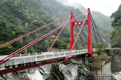 Cimu Bridge Taroko National Park, Hualien County