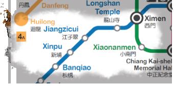 taipei MRT Easy Map E-Z Map