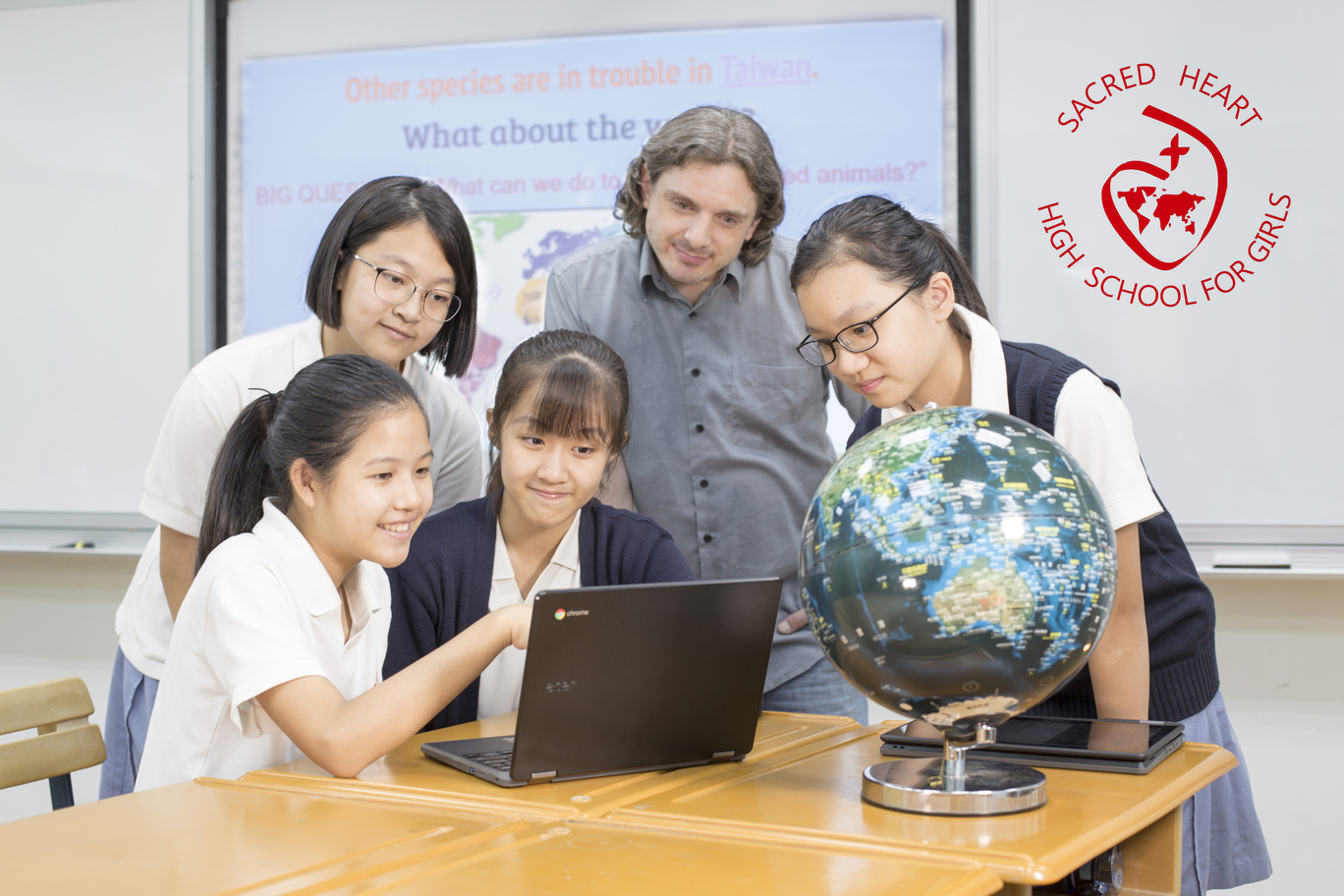 Teaching English and Living in Taiwan Jobs Available 教學工作,  Sacred Heart High School for Girls Foreign English Teacher Recruitment for 2021-2022 School Year image