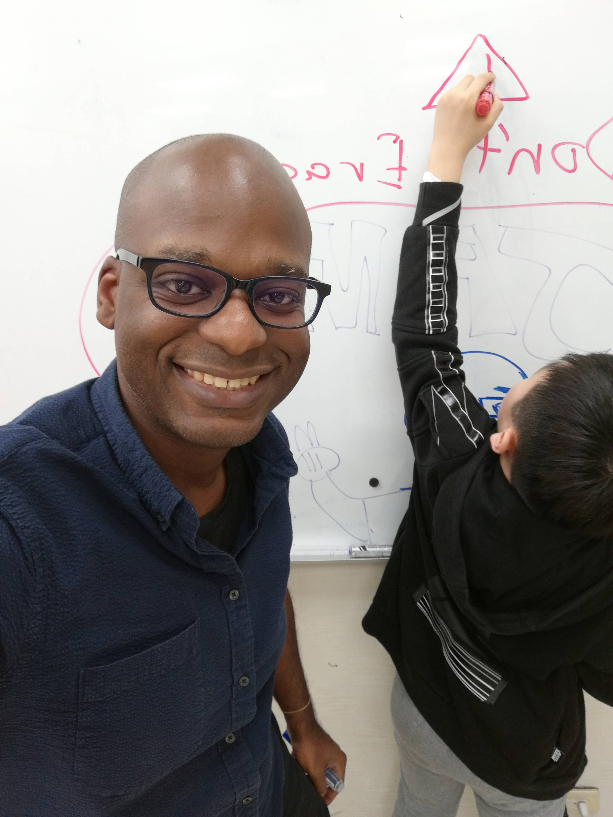 Teaching English and Living in Taiwan, Transformational and Communicative minded English teacher whose practice is informed by social cognitive and constructivist theory image