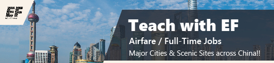 taiwan teaching english job EF English First